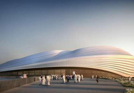 Worker dies at Qatar stadium site