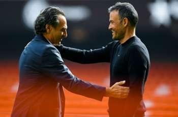 Luis Enrique salutes Barcelona's spirit in adversity