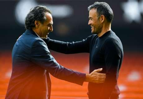 Luis Enrique salutes Barca spirit