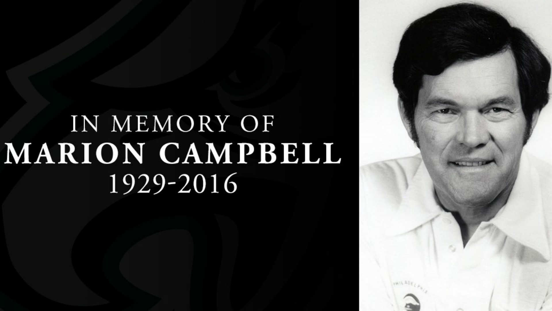 Former Eagles coach Marion Campbell has died