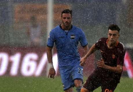 Roma-Sampdoria suspended after rain