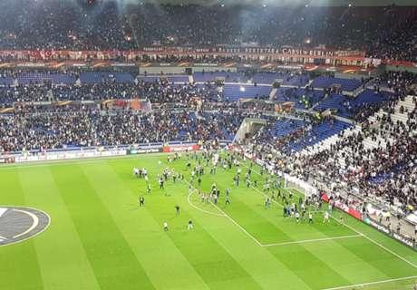 Lyon and Besiktas given UEFA bans