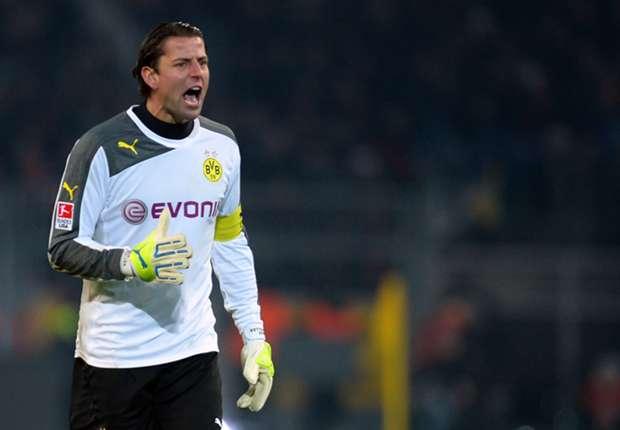 Roman Weidenfeller, der sichere Rückhalt bei der Borussia aus Dortmund