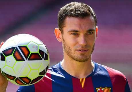 Vermaelen finally fit for Barcelona debut