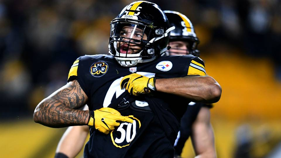 Image result for nix shazier steelers ravens