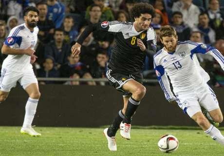 Gol Fellaini Menangkan Belgia Atas Israel