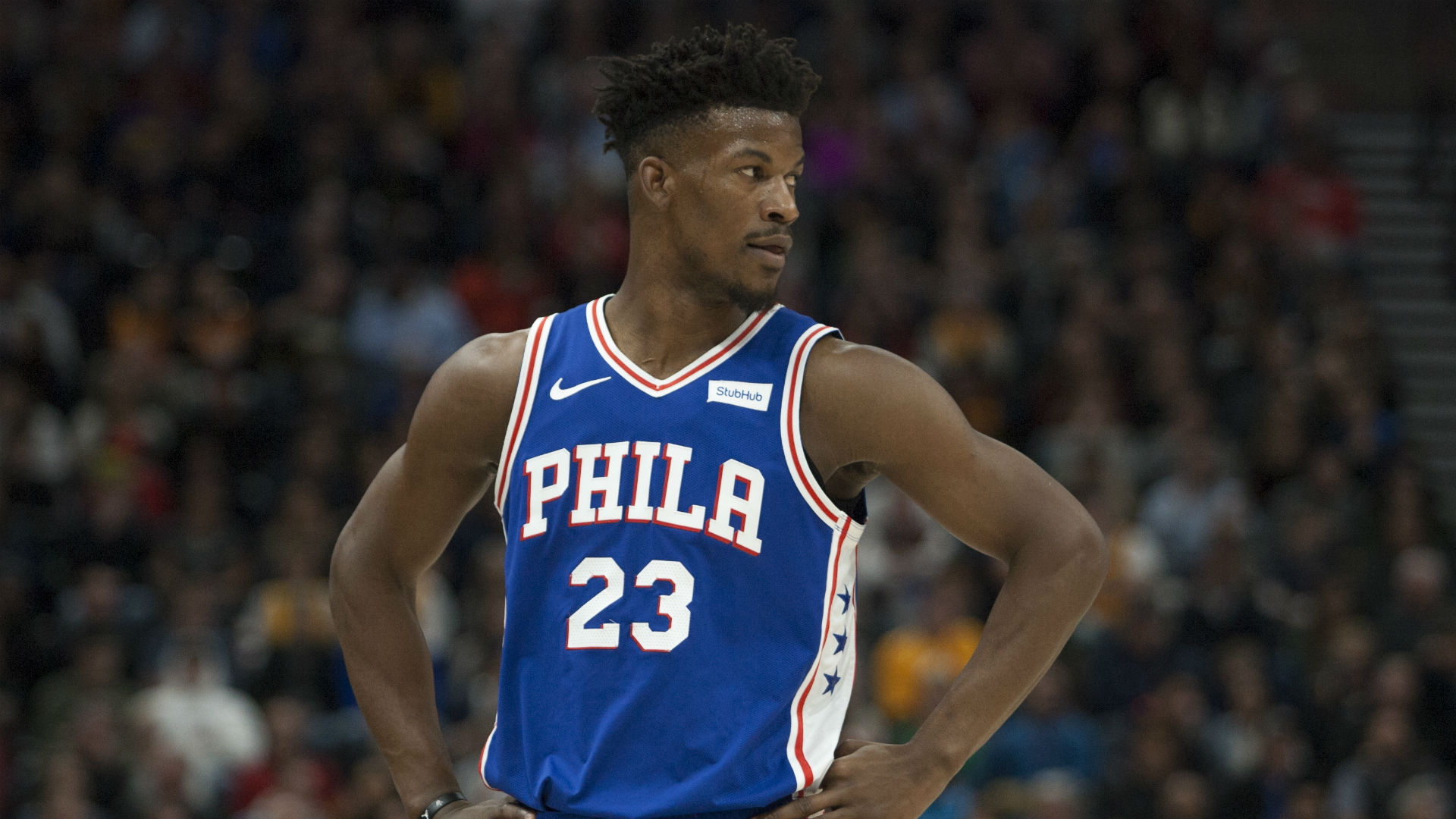 Jimmy Butler is creating another hell-like atmosphere with 76ers