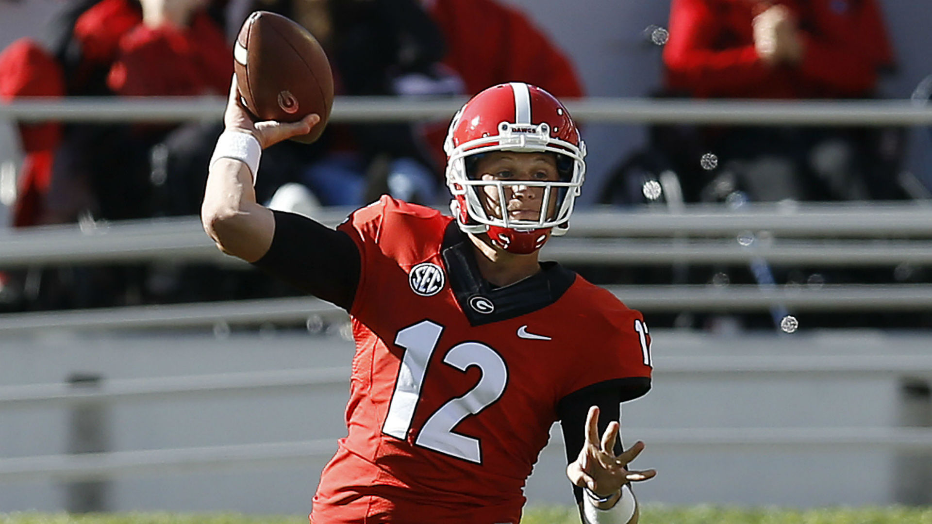 Georgia quarterback Brice Ramsey