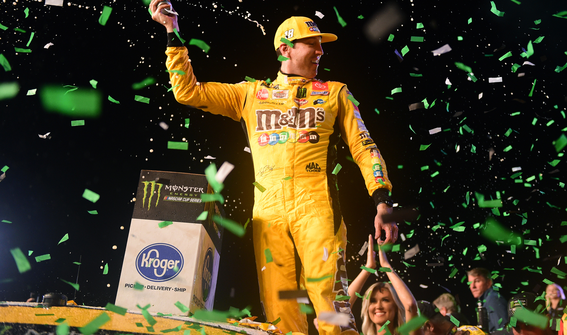 NASCAR champion Kyle Busch