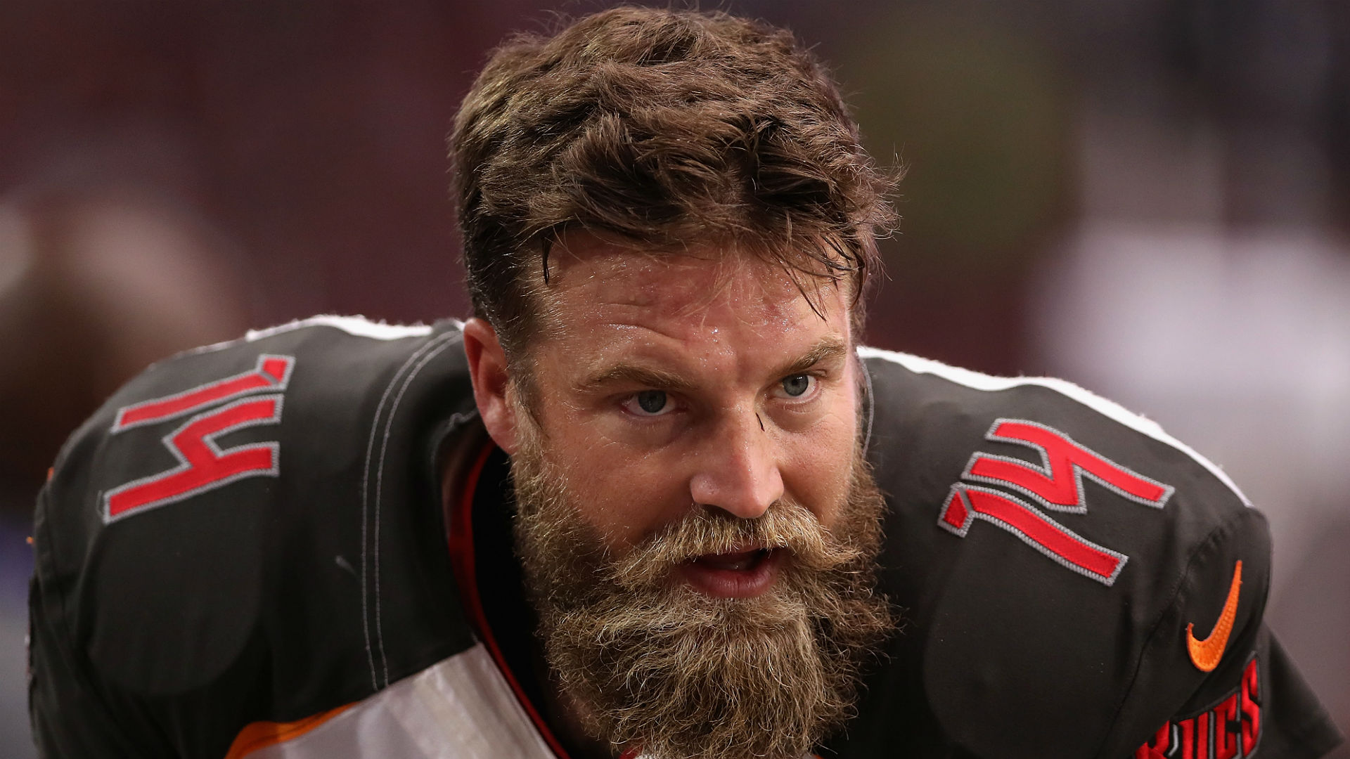 Ryan Fitzpatrick Blames Birthday Cake for the Offseason Weight He's Put On