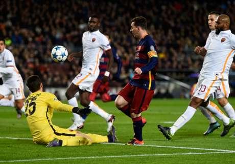 Messi's Roma goal wins UEFA award