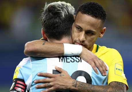 Neymar: Brazil caught Messi's eye