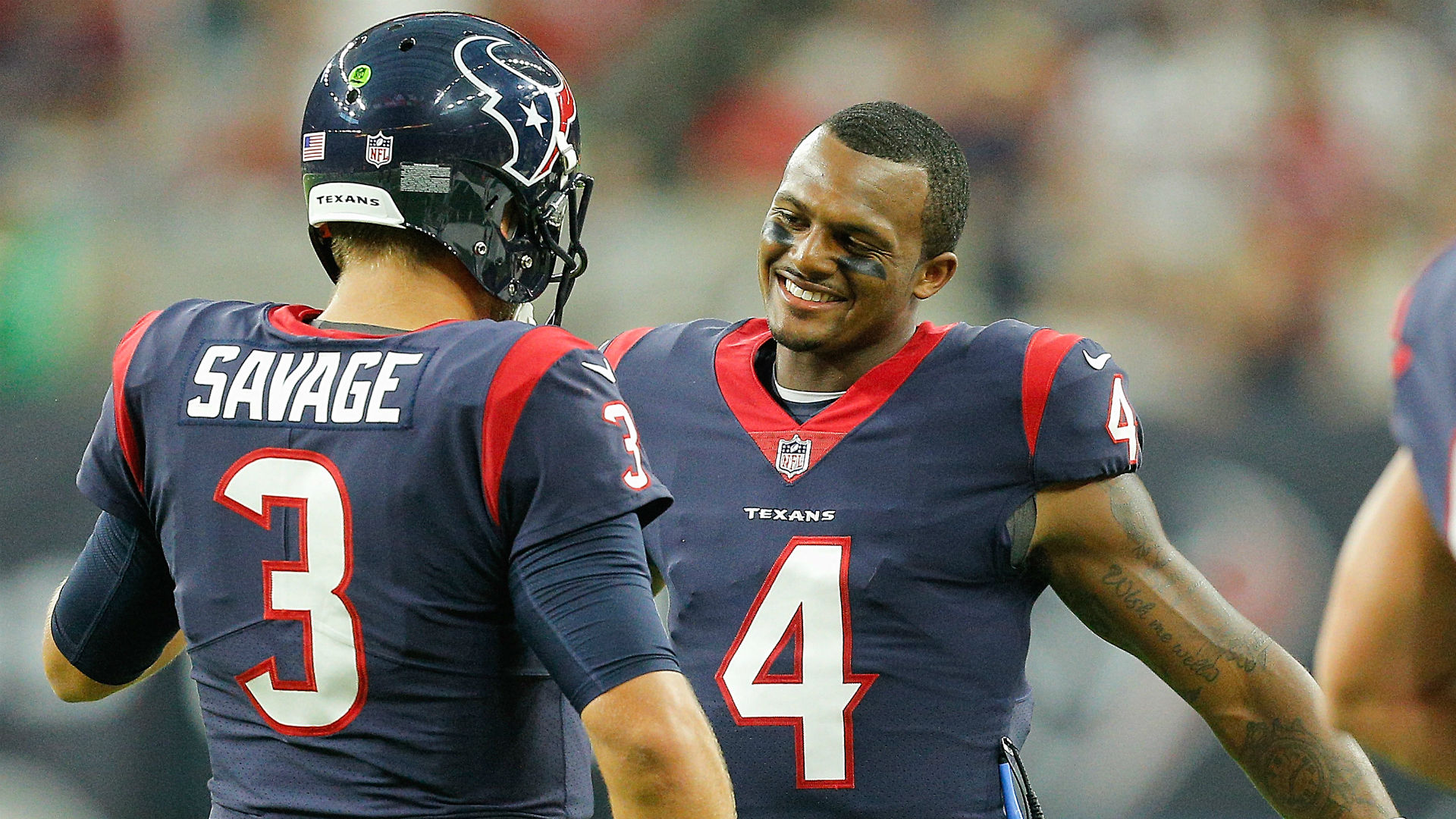 Watson gets the start for the Texans in Cincinnati