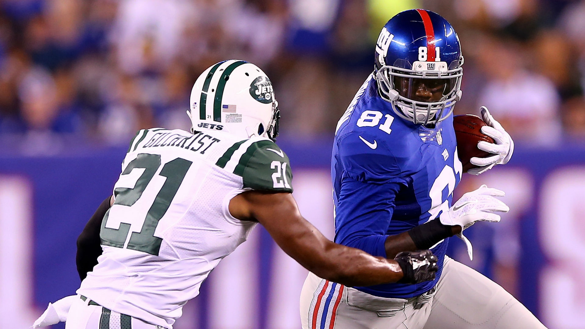 Police say former Giants TE had 25 pounds of pot in vehicle