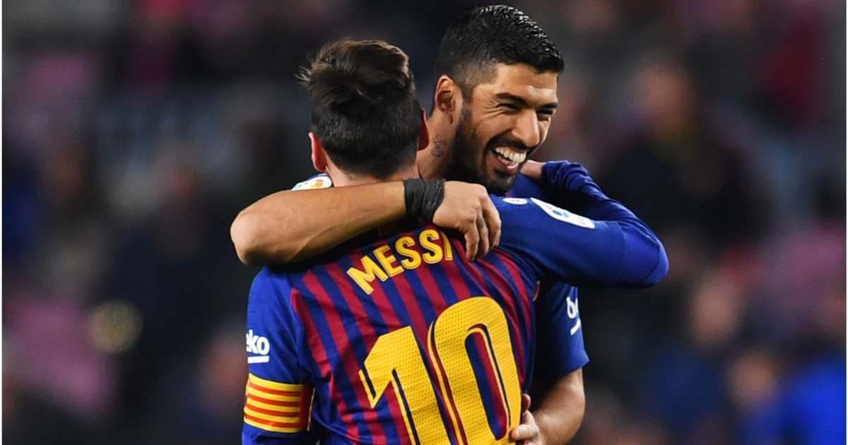 9ce7af0657c Barcelona 3 Leganes 1: Messi and Suarez combine to spare Barca's blushes