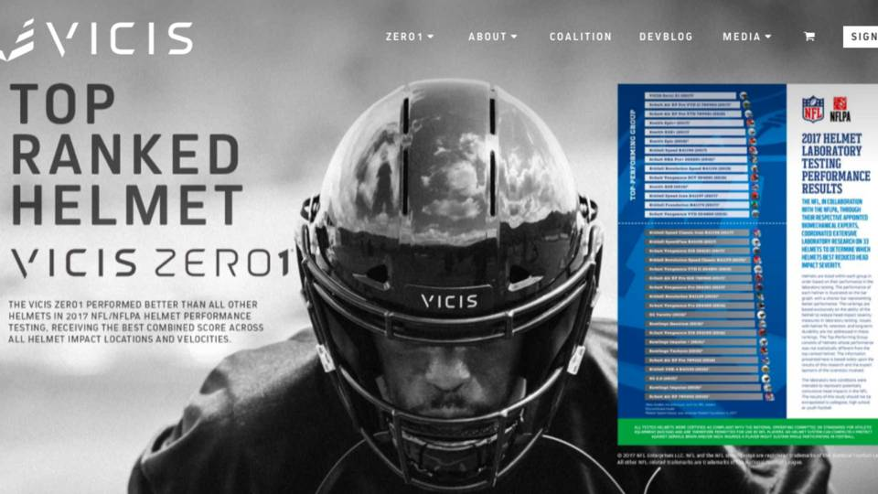 7392e1107e8 Seattle startup s  breakthrough  helmet to get NFL tryout this year ...