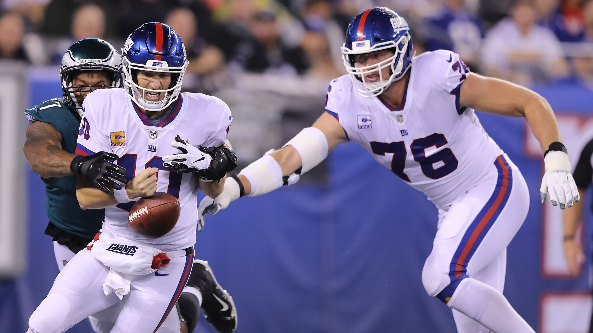 Eli Manning on struggles: 'I know I can play better'