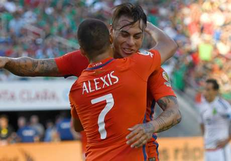 Chile into semifinals with rout of Mexico