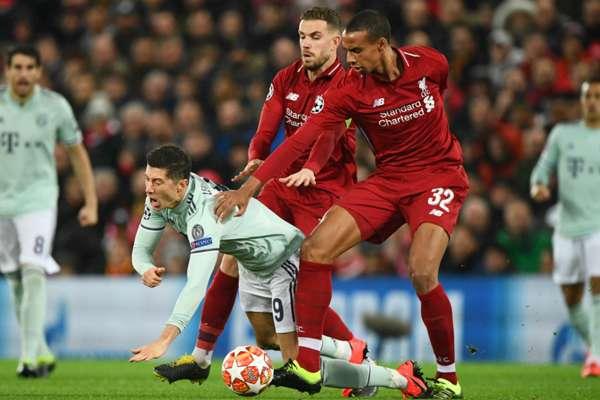 Van Dijk not missed as patched-up Liverpool stifle Lewandowski