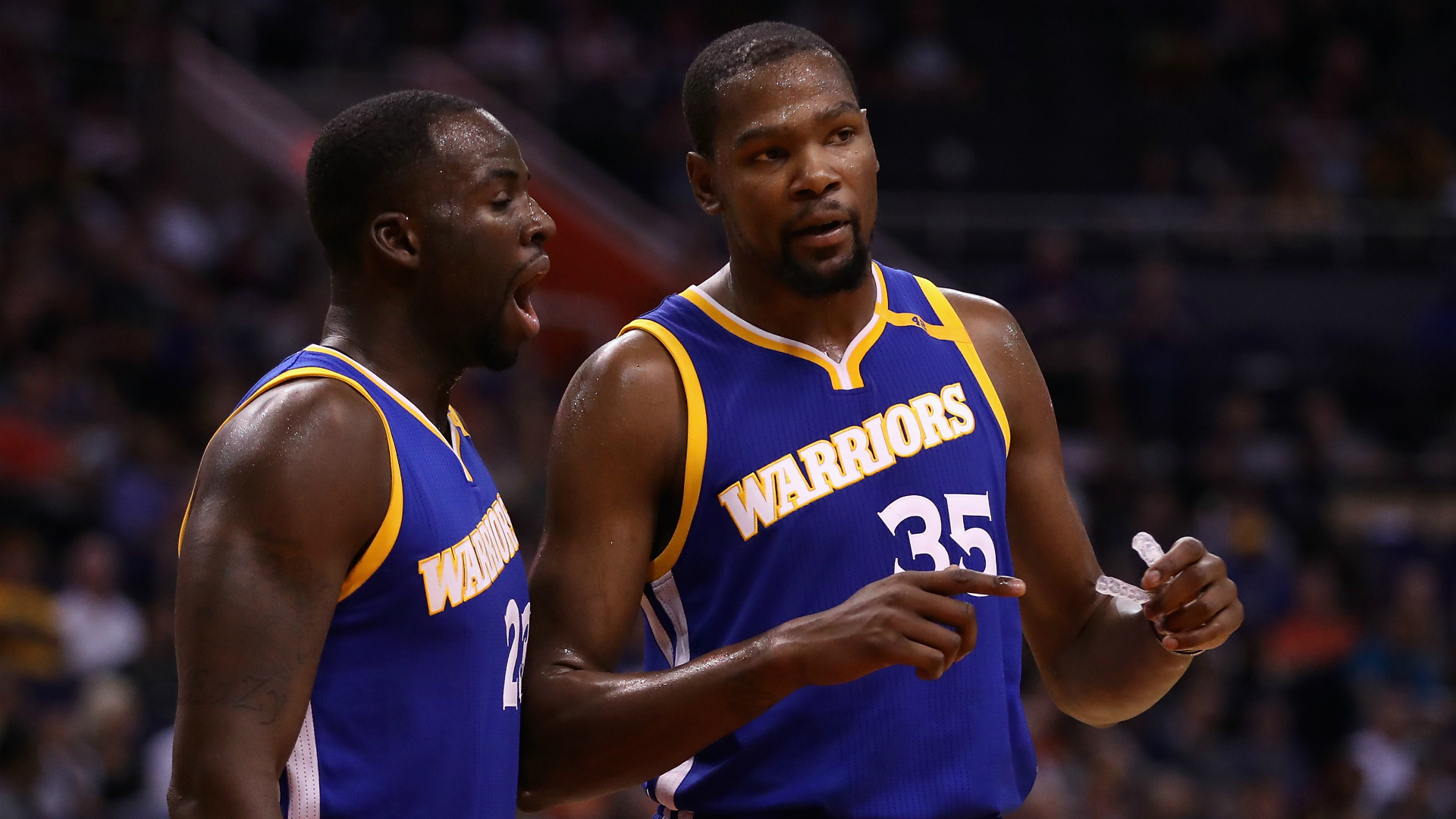 Durant making a case for best in National Basketball Association