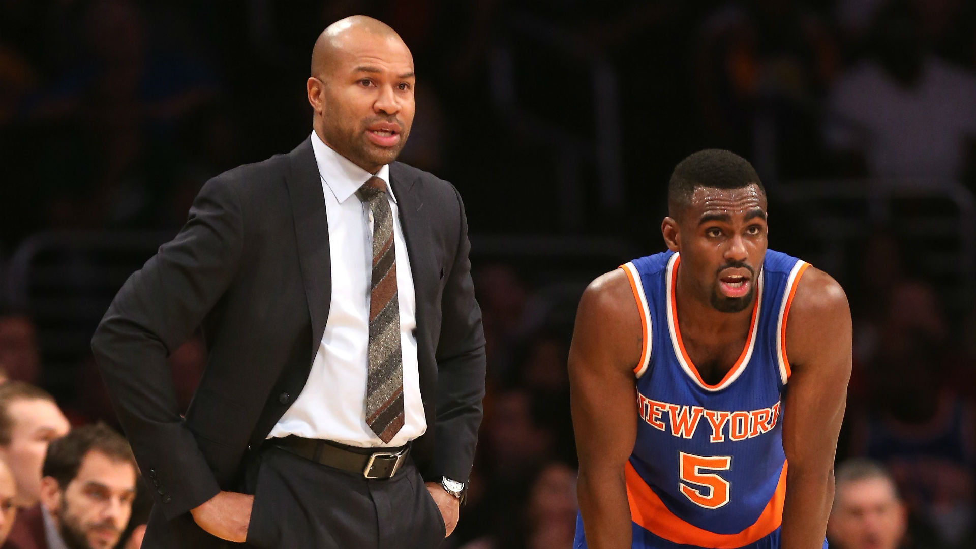 Derek Fisher claims he got more out of a less talented Knicks team