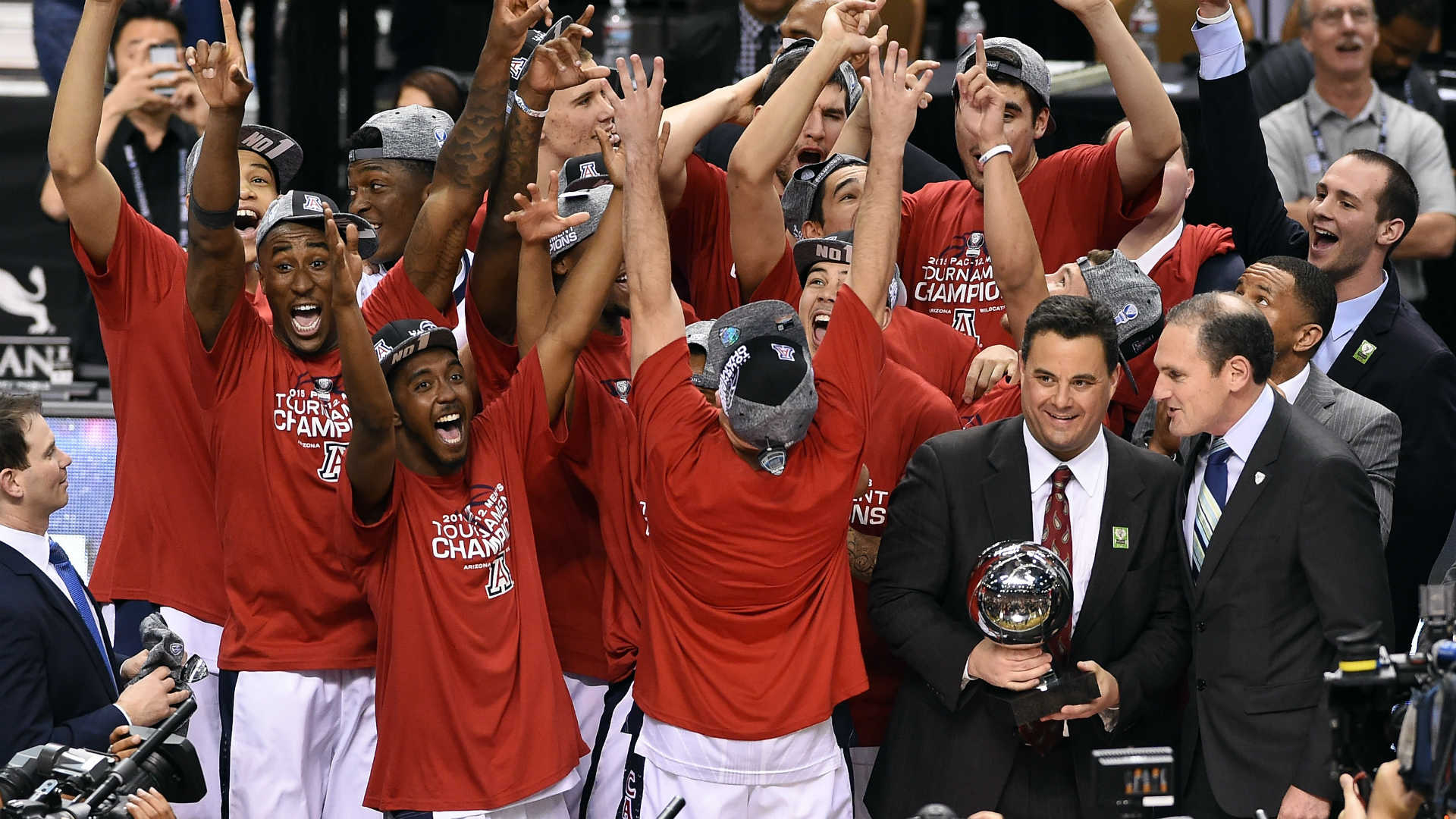 Pac-12 Tournament champion Arizona