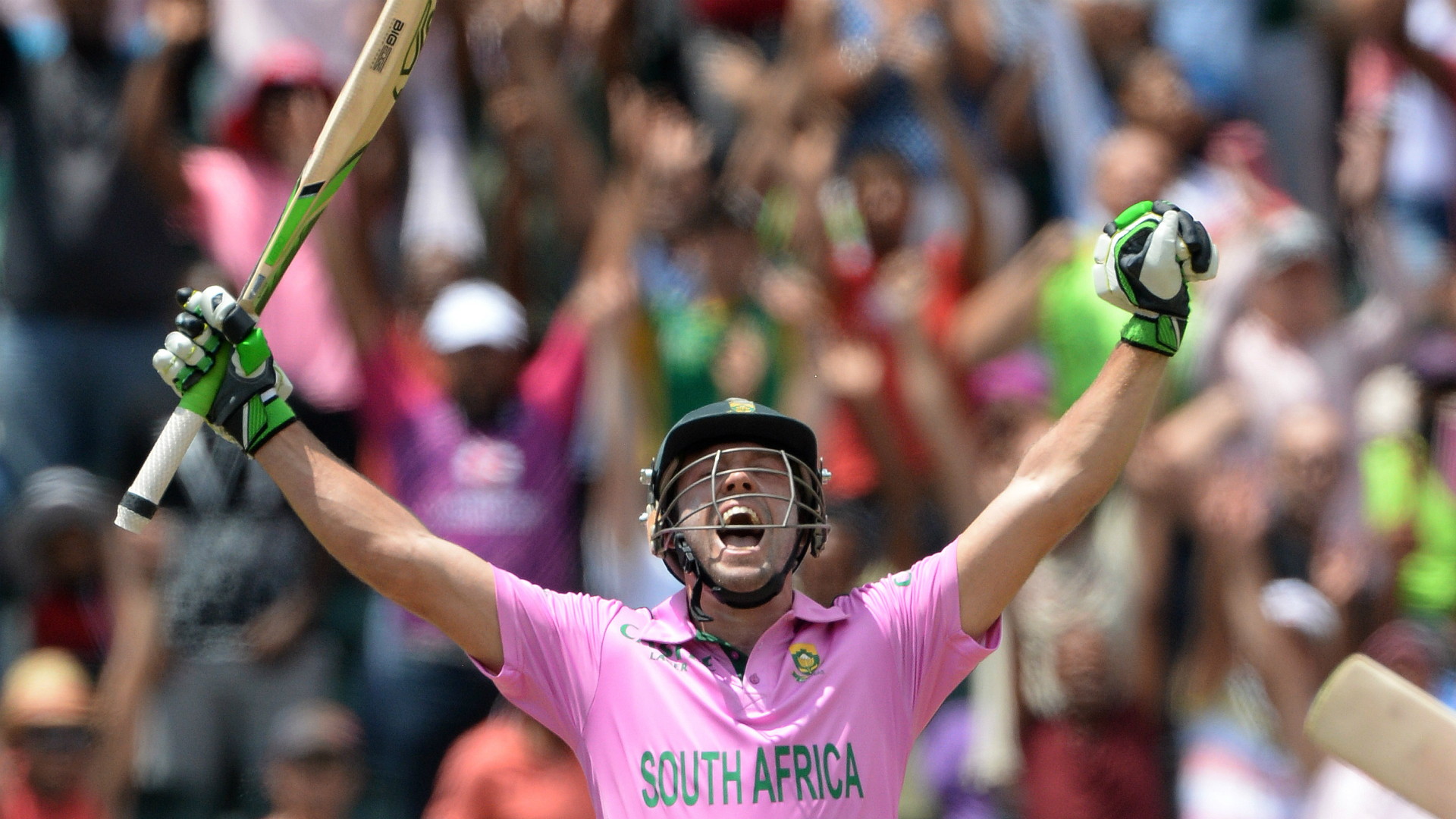 Cricketers pay tribute to South African talisman AB de Villiers