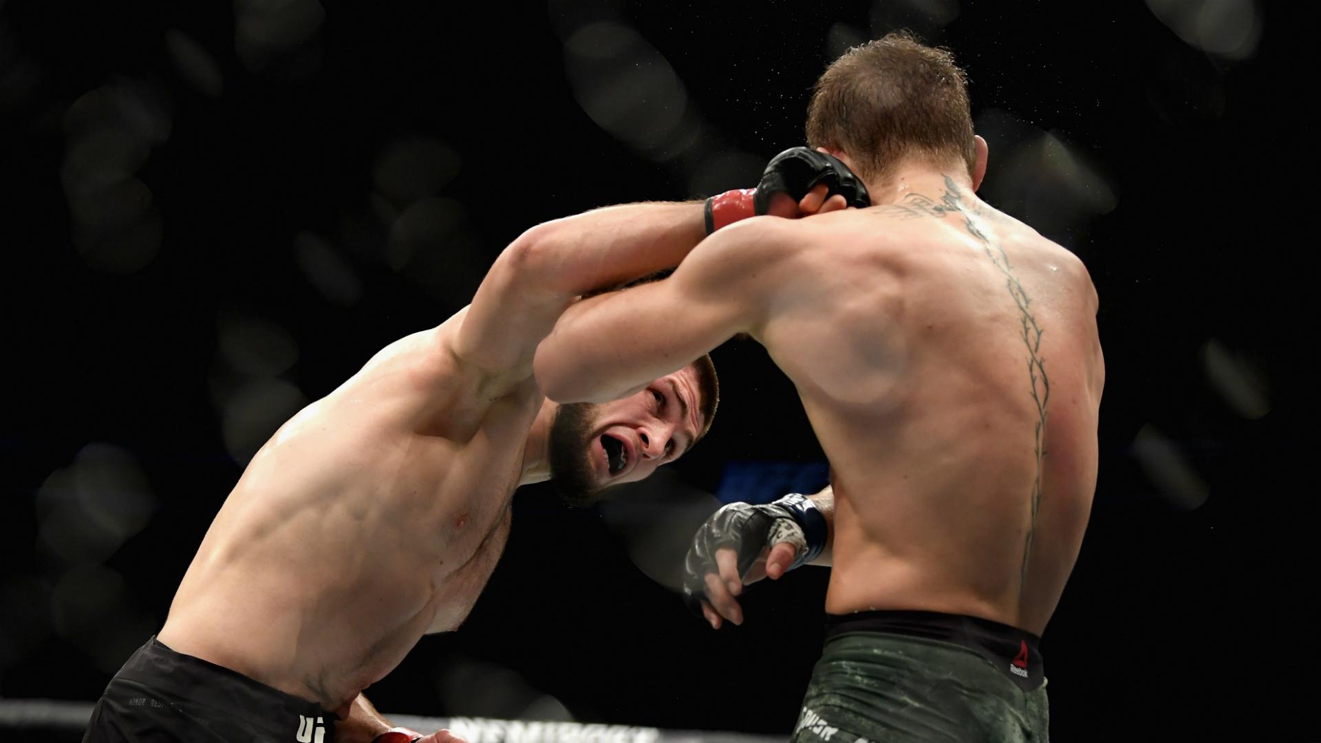 Conor McGregor, Khabib Nurmagomedov temporarily suspended for brawl, report says