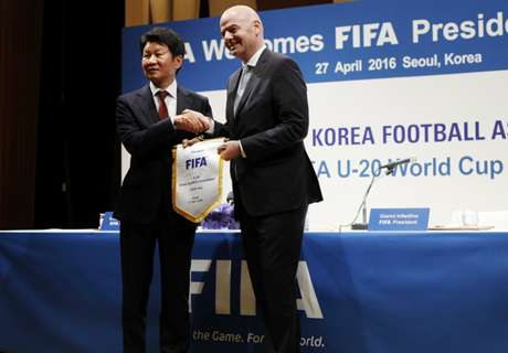 Infantino wants Korea friendly