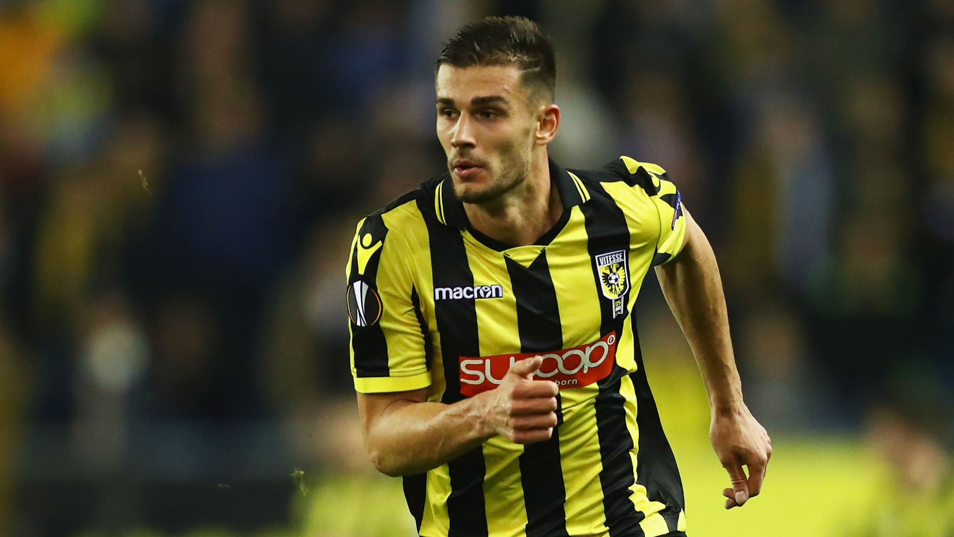 Chelsea's Miazga fined by loan club Vitesse for 'inappropriate' grab