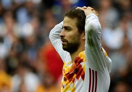 Perez calls for Pique to retire