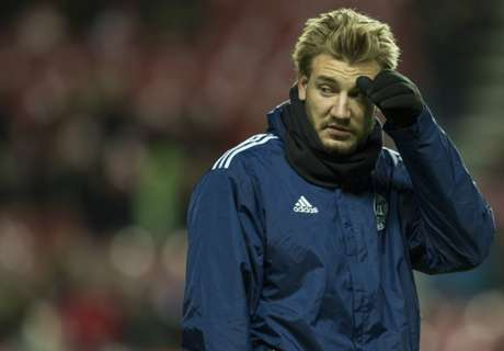 WATCH: Bendtner nutmegged in training