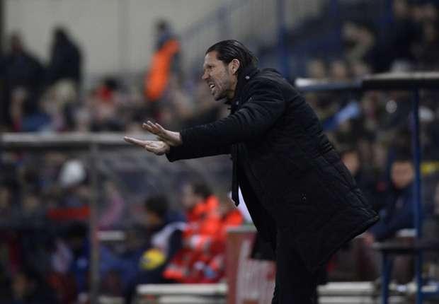 """Simeone: """"Ser líderes nunca llega en mal momento"""""""