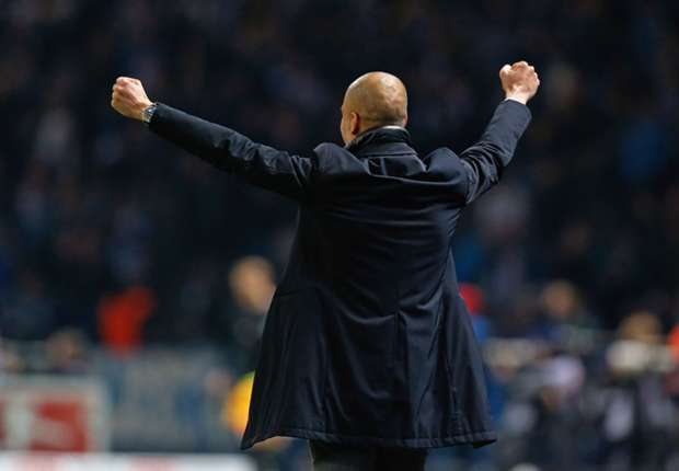 Low: Guardiola has taken Bayern to the next level