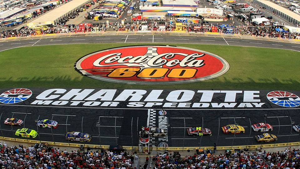 Charlotte motor speedway 39 s facebook pages hacked nascar for Dirt track at charlotte motor speedway