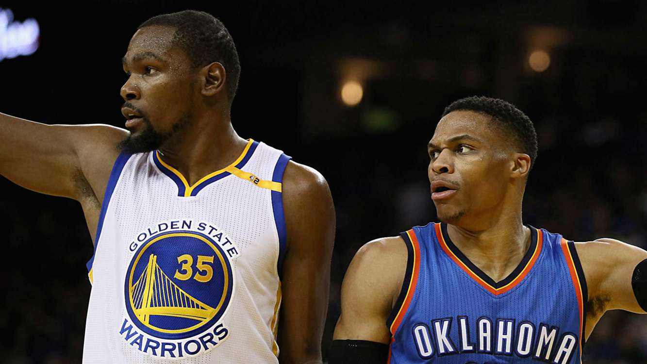 Kerr 'definitely' considering All-Star lineup with Westbrook, Durant