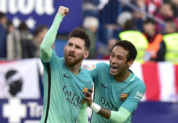 Messi celebrates 400th win with Barcelona
