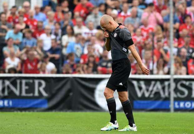 Lippstadt 3-4 Bayern Munich: Robben suffers injury scare as Ancelotti nicks win in first game