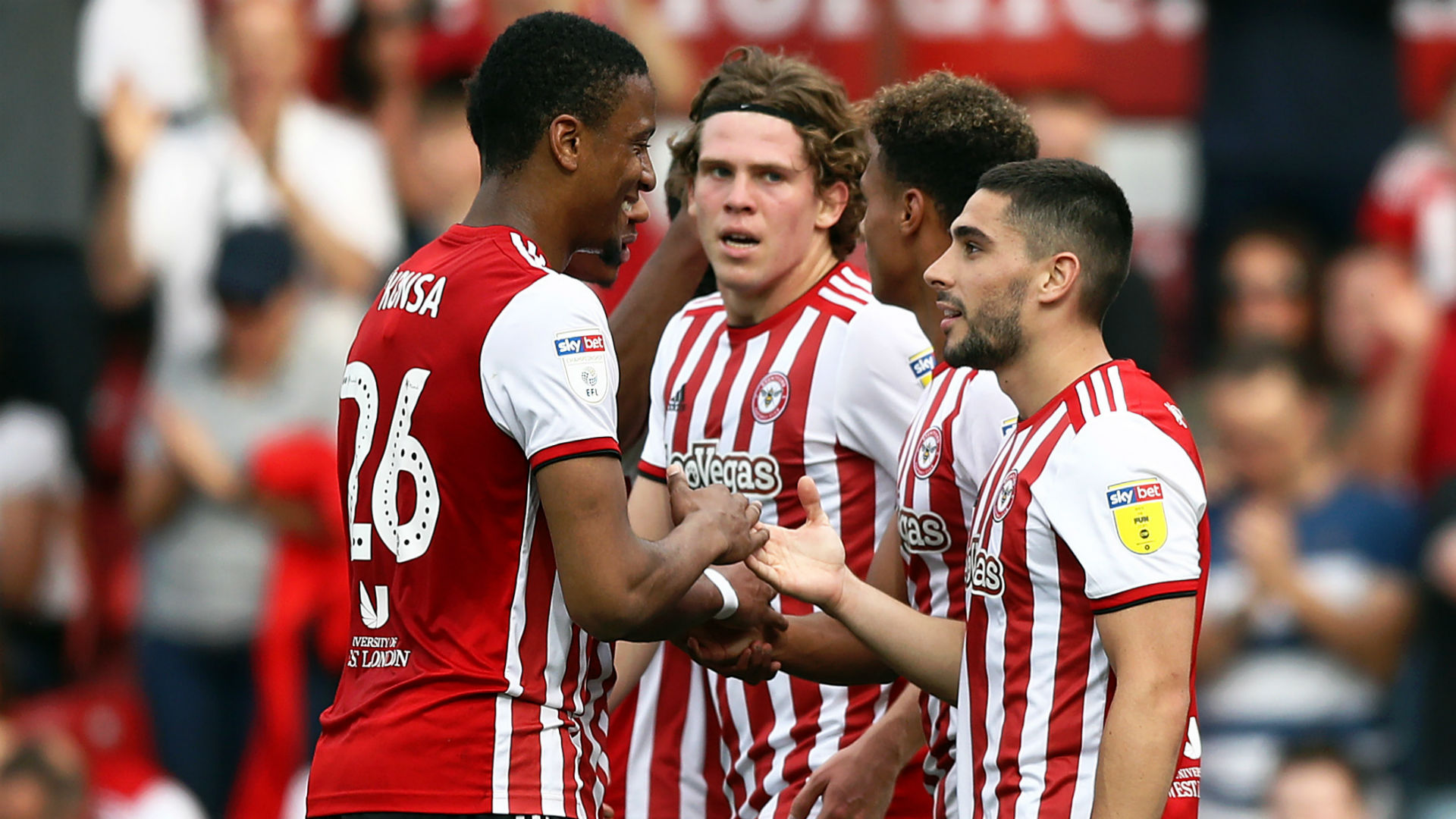 Brentford 2 Leeds United 0: Automatic promotion hopes hanging by a thread for Bielsa