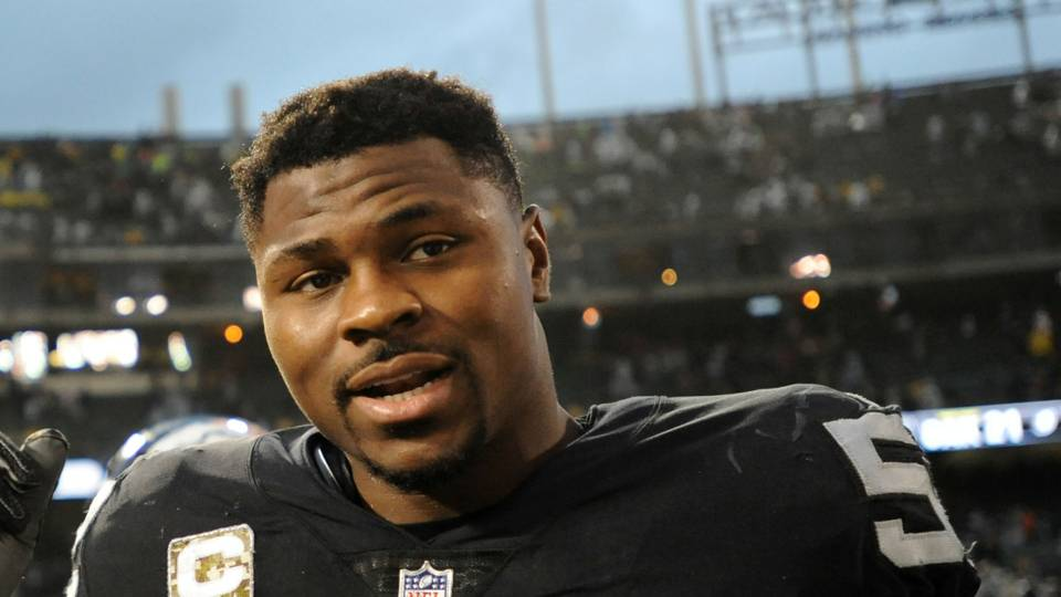 Khalil Mack bids Raider Nation farewell: 'I will cherish my time in Oakland forever'