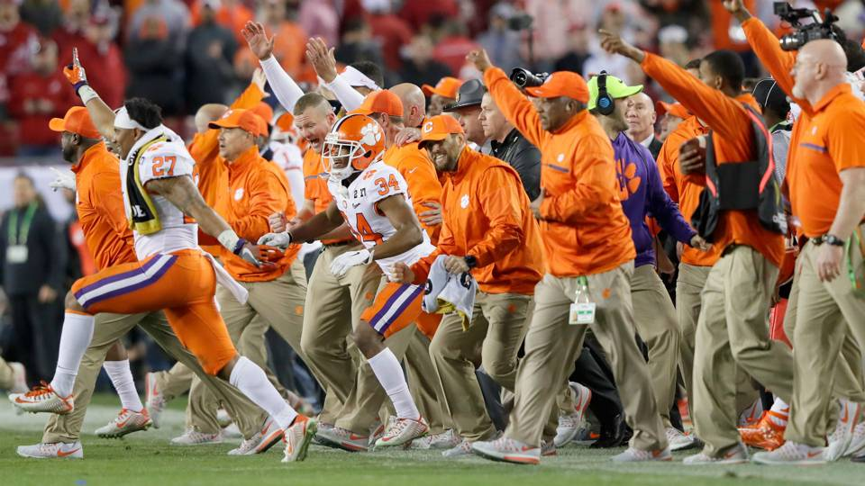 Seven Of The Most Amazing Facts From Clemsons National Championship