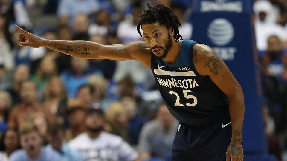 5a4bf119cf29 Five facts from Derrick Rose s first 40-point game since 2011 · NBA