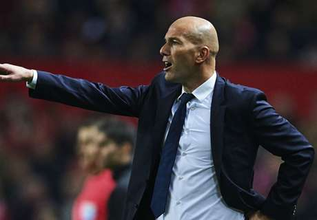 Madrid relaxed, admits Zidane