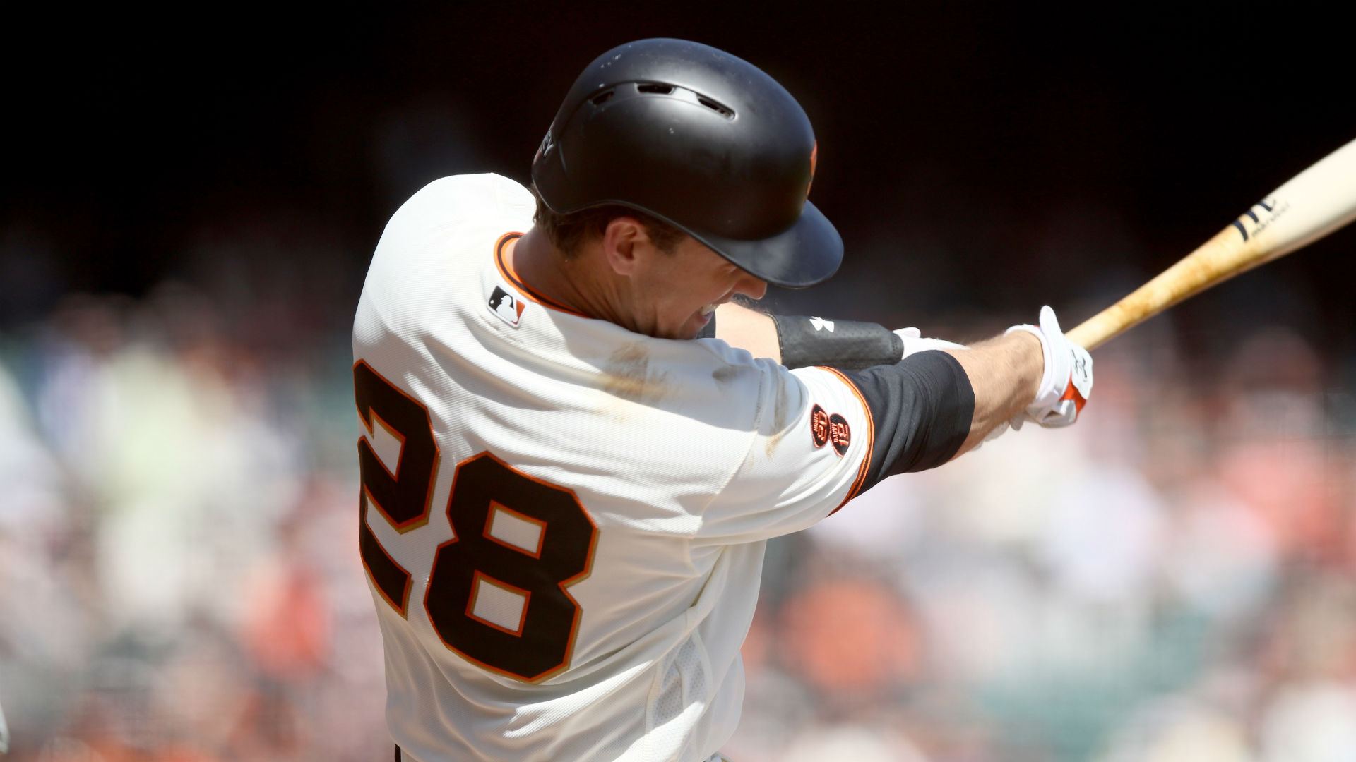 Giants' Buster Posey placed on 7-day concussion disabled list