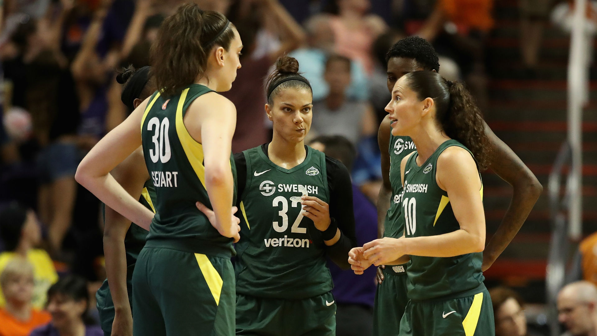 Storm, Mystics to meet in WNBA Finals