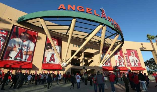 Angels Stadium in Anaheim