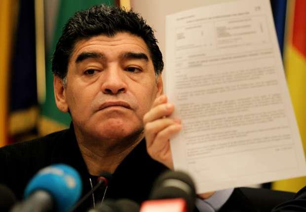Maradona appeals to EU over tax bill