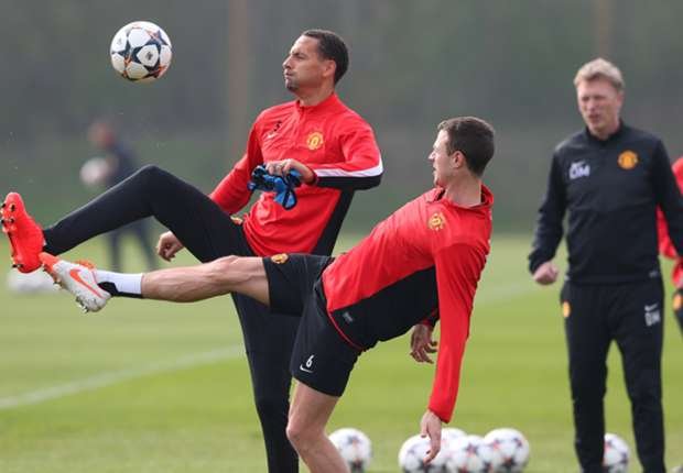Evans nearing Manchester United return