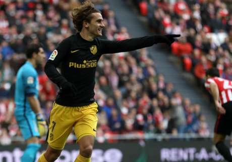 Atlético morst punten in Bilbao