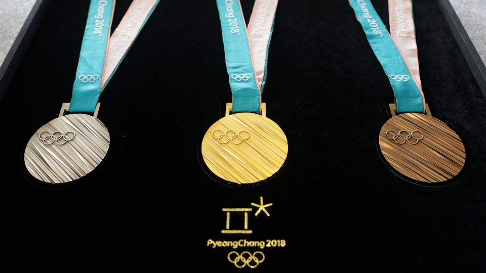Pyeongchang Winter Olympics medals